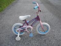 "Bike sale-kids 12"" and 20"", prices range from"