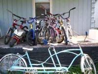 bikes 4 sale all kinds from kids boys & girls & men &