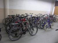 We have a big choice of bicycles. I have very much