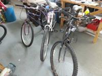 We have a variety of bicycles for sale.  Some will need