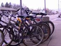 TREK 820 BLUE $100.00 DBX MT1000 YELLOW $90.00 FOLDING
