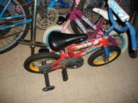 THE RANKIN THRIFT HAS MANY BIKES FROM CHILD TO ADULT