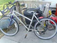 I have a Womens and a kids bike for sale. Its $20.00