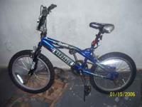 "Bike 1 20"" Blue Mongoose outer limits $ 60.00 Bike 2"