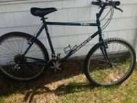 UP FOR SALE I HAVE THIS WORKING GT SHASTA MOUNTAIN BIKE