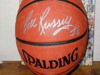 The great Bill Russell Boston Celtics autographed