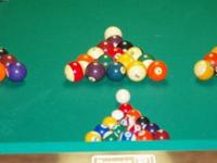 Selling 3 sets of used phenolic Belgium billard balls,