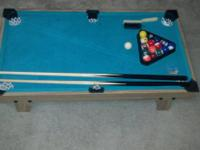 I'm marketing a Billiard's Swimming pool Table Game for
