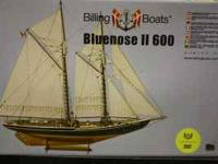 "Billing Boats Bluenose 2 ""600"" never put together,"