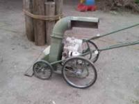I have a 8 hp billy goat leaf vac. Sat for a year, did