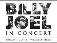 Sold-out Billy Joel concert at Wrigley Field (July