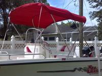 A full stainless steel bimini is a high quality