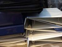 I have great deals of binders for sale:.  1-3.5 inch