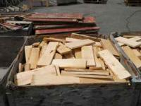 Wood is Red Fir -Bins are 4'L x 4'W x 2'H = 32 cubic