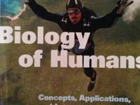 Brand new never used biology of humans 4th edition