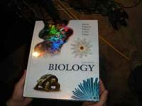 This college book, titled ninth edition biology, is
