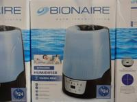 Description:. Bionaire Ultrasonic Visible Mist Provides