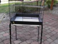 This is a very clean cage and I purchased it to bring