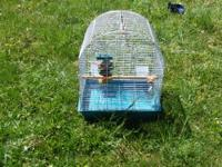 I have a bird cage that would be great for a small