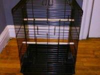 Hi all. New cage almost , little use , selling because