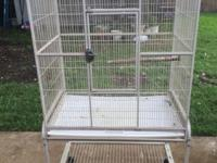 I have a bird cage in good condition 32.1/2 long by
