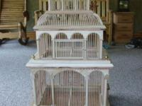 Hand made bird cage this is a large cage all made by me