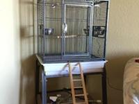 Hello, bird cage in excellent condition like brand new.