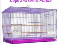 I have a small/medium bird cage for sale or trade I