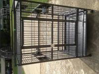 Bird Cage or Parrot Cage with stand (has wheels) Green