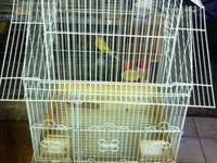 Bird Cage with wheel stand. you can put any type of