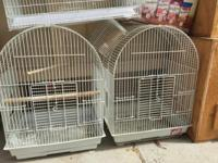 I have many bird cages from $50 to $300 for sale.
