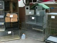 For sell Lots of Breeding cages and accessories