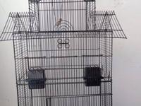 I have a lot of brand new bird cages for low prices I