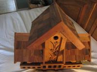 Beautifully detailed, well constructed in Cedar. Can be