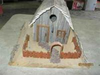 For Sale: Bird House - Wooden - Barn $50 OBO  Location: