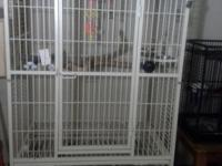"Macaw Cage heavy duty and huge 1"" spacing tall 65"" wide"