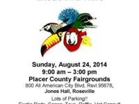 Unique Bird Mart, Sunday, August 24, 2014, 9a-3p, at