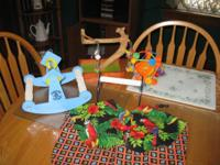 Bird toys - Bird teeter totter, Mini Java stand, Bird