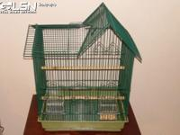 I have two large bird cages for sale, for parakeets or