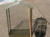 I have two bird cages for sale. One is a 23 inch