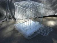 In First and second picture cages are 20x20x35 with