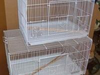 Birds Cages, large, 2 dimensions, new, $25 - $35. 59th