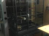Vendo jaula 2 meses de uso ,nueva costo $270.00 y la
