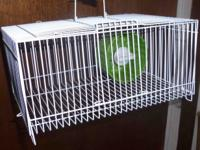 Travel cage, take your new small pet to grandma's house