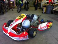 hello i am trying to sell my birel shifter kart chassis
