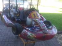 Shifter kart chassis with good balance of rigidity and