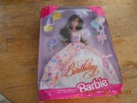I am selling this Birthday barbie. It is new but I am