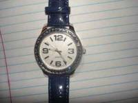 Brand New September Sapphire Birthstone Watch- $15.00