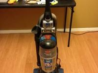 Bissel Vacuum with retractable power cord and febreeze