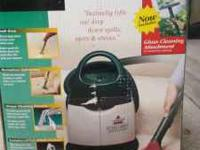 Bissell little green portable carpet deep cleaner come